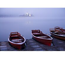 Icy mist Photographic Print