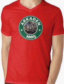 Arkaden Mens V-Neck T-Shirt