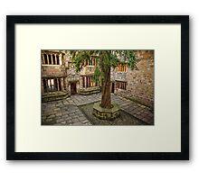 Skipton Castle Framed Print