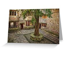 Skipton Castle Greeting Card