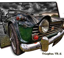 Triumph TR 5 (H.D.R. and O.O.B.) by Nigel Butterfield