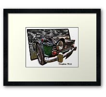 Triumph TR 5 (H.D.R. and O.O.B.) Framed Print