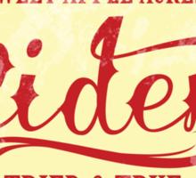 Sweet Apple Acres' Cider Sticker