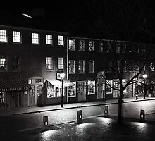 Inn Street Mall at Light by Sam Davis