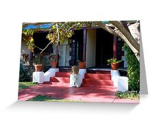 Prison Warders cottages Greeting Card