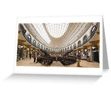 Leeds Corn Exchange Greeting Card
