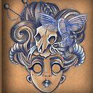 Bird & Skull by Laura McDonald