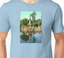 Asian Landscape Reflecting In Water Unisex T-Shirt