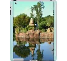 Asian Landscape Reflecting In Water iPad Case/Skin