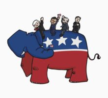 GOP Elephant Kids Tee