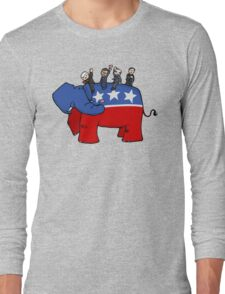 GOP Elephant Long Sleeve T-Shirt