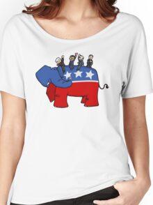 GOP Elephant Women's Relaxed Fit T-Shirt