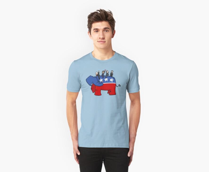 GOP Elephant by 72ndRedPenguin