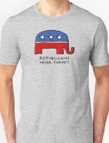 Republicans Never Forget T-Shirt