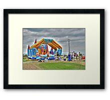 Fun Castle Framed Print