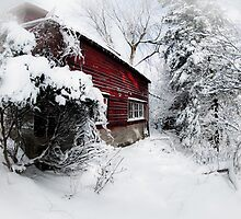 Red Barn Abandoned  by Robert Smith