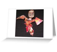 Tribal Fire Dancer Greeting Card