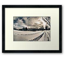 Cemetery Road Framed Print