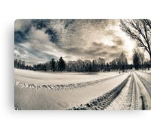 Cemetery Road Canvas Print