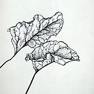Pointillism Leaves  by ArtLuver