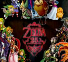 Zelda 25th Anniversary  Sticker