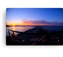 Sackets Harbor Sunset Canvas Print