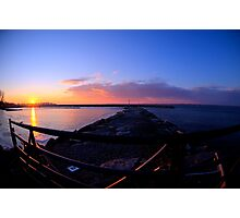 Sackets Harbor Sunset Photographic Print