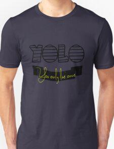 YOLO Yellow T-Shirt