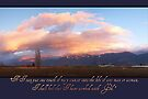 Working with God - Thank You Card by Tracy Friesen