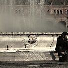 Fountain in Seville by Tony Hadfield