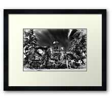 All Saints Infa Red, Pontefract Yorkshire. Framed Print