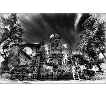 All Saints Infa Red, Pontefract Yorkshire. Photographic Print