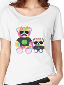 Rainbow Bear with shirts Women's Relaxed Fit T-Shirt