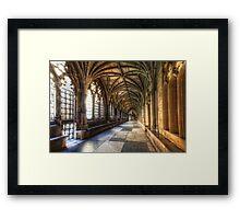 The Sun-Filled Corridor Framed Print