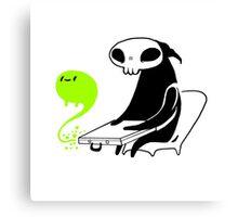 grim reaper patience Canvas Print