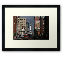 Super Hustle & Bustle Framed Print