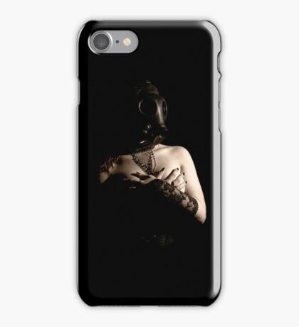 Ipod Case fetish gasmask Wanted  iPhone Case/Skin
