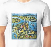 Auckland - harbours, volcanoes and all Unisex T-Shirt