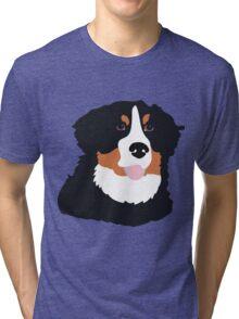 Bernese Mountain Dog Tri-blend T-Shirt