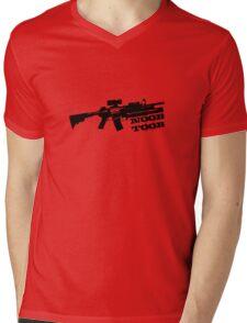 Noob Toob Mens V-Neck T-Shirt
