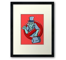 I Ain't Afraid Of No Ghosts - Phineas Framed Print