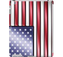 American Flag 2 - USA - Metallic iPad Case/Skin