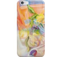 Plums and Pear in Infraction, by Alma Lee iPhone Case/Skin