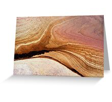 Sandstone magic #1 Greeting Card