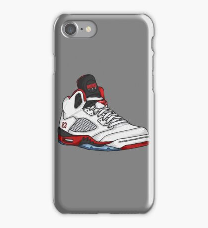 Shoes Fire Reds (Kicks) iPhone Case/Skin
