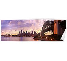 Sydney Twilight, New South Wales, Australia Poster