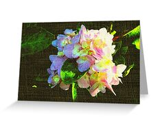 Hiding  from the true colors of love... Greeting Card