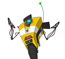 Claptrap Sticker by Keroa