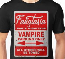 True Blood - Fangtasia - Vampire Parking Only Unisex T-Shirt