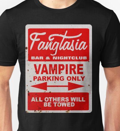 True Blood - Fangtasia - Vampire Parking Only Unisex T-Shirt